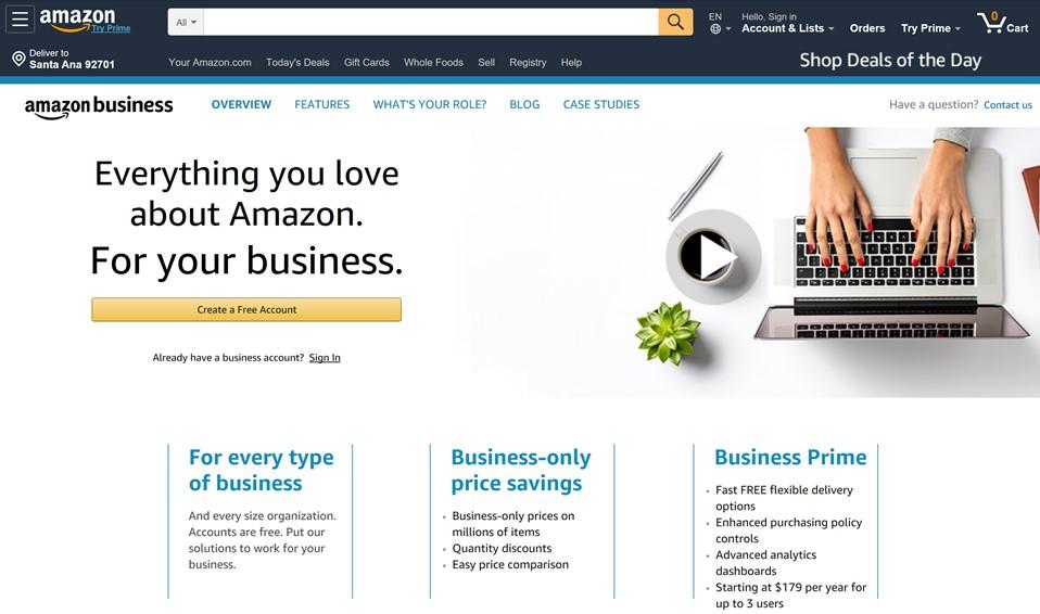 Amazon B2B Marketplace – Global Marketing Professor